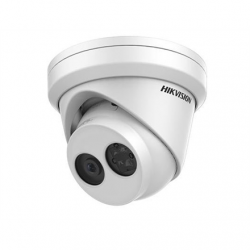 Hikvision IP Camera DS-2CD2345FWD-I F4 Dome, 4 MP, 4mm, Power over Ethernet (PoE), IP67, H.265+/H.264+, Micro SD, Max.128GB