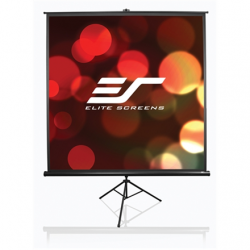 "Elite Screens Tripod/Portable Pull Up Projector Screen T92UWH Diagonal 92 "", 16:9, Viewable screen width (W) 203.2 cm, Black"