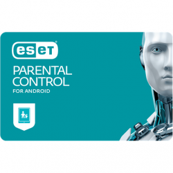 Eset Parental Control for Android, New electronic licence, 2 year(s), License quantity 1 user(s)