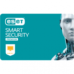Eset Smart Security Premium, New electronic licence, 1 year(s), License quantity 1 user(s)