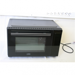 SALE OUT. Caso Electronic Oven TO 32  Electric, Easy to clean: Interior with high-quality anti-stick coating, Sensor touch, Height 34.5 cm, Width 54 cm, Black, UNEVEN SPACEING BETWEEN DOOR AND CORPUS, DAMAGED GALSS