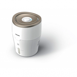 Philips HU4803/01 Humidification capacity 220 ml/hr, White/ beige, Type Humidifier, Natural evaporation process, Suitable for rooms up to 25 m², Water tank capacity 2 L