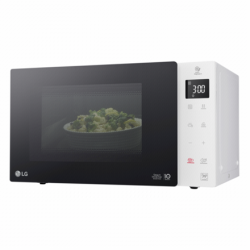 LG Microwave Oven MS23NECBW 23 L, Free standing, Touch control, 1000 W, White, Defrost function