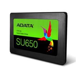 """ADATA Ultimate SU650 3D NAND SSD 480 GB, SSD form factor 2.5"""", SSD interface SATA, Write speed 450 MB/s, Read speed 520 MB/s"""