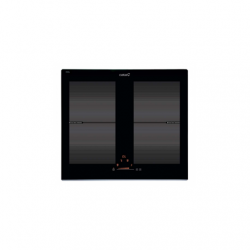 CATA IF 6002 BK Indoction Hob, Number of burners/cooking zones 4, Black, Timer