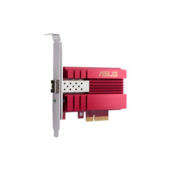 Asus XG-C100F 10G PCIe Network Adapter; SFP+ port for Optical Fiber Transmission and DAC cable 10/100/1000/10000 Mbit/s