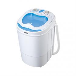 Mesko Washing machine semi automatic MS 8053 Top loading, Washing capacity 3 kg, Depth 37 cm, Width 36 cm, White,