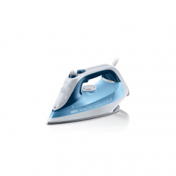 Braun SI 7062  Blue, 2600 W, Steam Iron, Continuous steam 50 g/min, Steam boost performance 225 g/min, Anti-drip function, Anti-scale system, Vertical steam function, Water tank capacity 300 ml