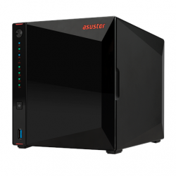 Asus Asustor Nimbustor 4 AS5304T up to 4 HDD/SSD, Intel Celeron J4105 Quad-Core, Processor frequency 1.5 GHz, 4 GB, SO-DIMM DDR4 2400, Single, Black