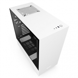NZXT H510 Side window, White/Black, ATX, Power supply included No