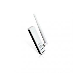 TP-LINK USB 2.0 Adapter TL-WN722N 2.4GHz, 802.11n, 150 Mbps, 1xDetachable antenna 4dBi