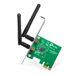 TP-LINK TL-WN881ND, PCI Express Adapter 2.4GHz, 802.11n, 300Mbps, 1xDetachable antenna 2dBi