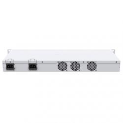 MikroTik Cloud Router Switch 326-24S+2Q+RM with RouterOS L5, 1U rackmount Enclosure