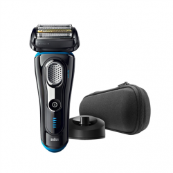 Braun Electric Foil Shaver  9240S Wet use, Rechargeable, Charging time 1  h,  Lithium Ion, Rechargable  battery, Number of shaver heads/blades 5, Black