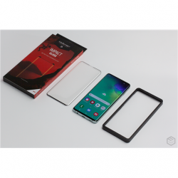 MyScreen Impact glass edge 3D Samsung, Galaxy Note 10, Flexible hybrid glass, Transparent with a black frame