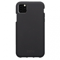 3SIXT Red BioFleck Case (3S-1621) Back protection, Apple, iPhone 11 Pro, Plant materials, Anthracite