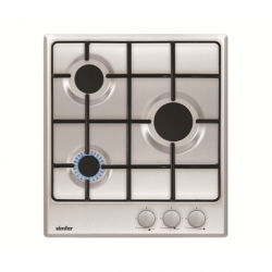 Simfer Hob H4.300.VGRIM Gas, Number of burners/cooking zones 3, Rotary knobs, Inox,