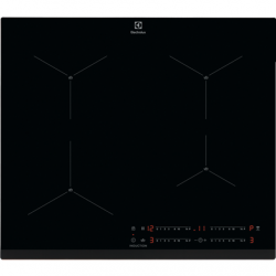 Electrolux 600 series SenseBoil Hood EIS62443 Induction, Number of burners/cooking zones 4, Touch control, Timer, Black, Display