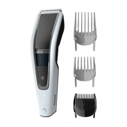 Philips Hair clipper HC5610/15 Cordless or corded, Number of length steps 28, Step precise 1 mm, Black/Grey