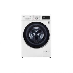 LG Washing machine F2WN4S6N0 Front loading, Washing capacity 6,5 kg, 1200 RPM, Direct drive, A+++ -20%, Depth 45 cm, Width 60 cm, White, LED touch screen, Display, Wi-Fi