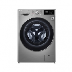LG Washing machine F2WN6S7S2T Front loading, Washing capacity 7 kg, 1200 RPM, Direct drive, A+++ -20%, Depth 56 cm, Width 60 cm, Chrome, Steam function, LED touch screen, Display, Wi-Fi