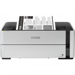 Epson Printer EcoTank M1170 Mono, Inkjet, Inkjet Printer, Wi-Fi, Maximum ISO A-series paper size A4, White