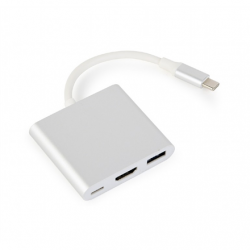 Cablexpert USB type-C multi-adapter