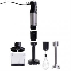 Camry Blender CR 4623 Hand Blender, 1600 W, Number of speeds Variable, Turbo mode, Chopper, Ice crushing, Black