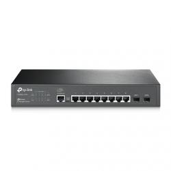 TP-LINK Switch T2500G-10TS Managed L2, Rack mountable, 1 Gbps (RJ-45) ports quantity 8, SFP ports quantity 2