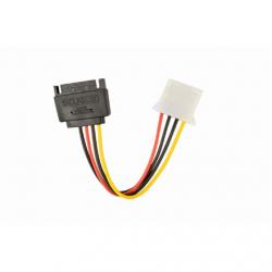 Gembird SATA (male) to Molex (female) power cable, 0.15 m