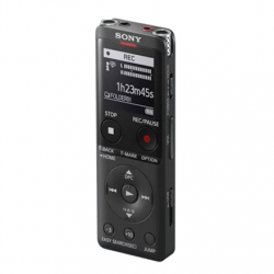 Sony Digital Voice Recorder ICD-UX570 LCD, Black, MP3 playback