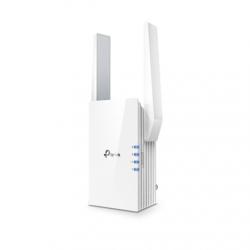 TP-LINK Extender  RE505X 802.11ax, 2.4GHz/5GHz, 300+1200 Mbit/s, 10/100/1000 Mbit/s, Ethernet LAN (RJ-45) ports 1, Antenna type 2xExternal