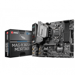 MSI MAG B365M MORTAR Processor family Intel, Processor socket LGA1151, DDR4, Memory slots 4, Chipset Intel B, Micro ATX