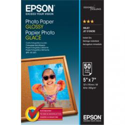 Epson Photo Paper Glossy 50 sheets, 13 x 18 cm, 200 g/m²