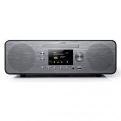 Muse Radio M-885 DBT USB port, FM radio, Grey, CD player, Bluetooth, 80 W