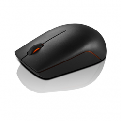 Lenovo Wireless Compact Mouse 300 Black, 2.4 GHz Wireless via Nano USB