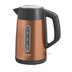 Bosch Kettle TWK4P439 Electric, 2400 W, 1.7 L, Stainless steel, Copper, 360° rotational base