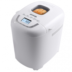 Gorenje Bread maker BM910WII Power 550 W, Number of programs 15, Display LCD, White