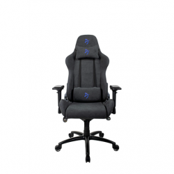 Arozzi Gaming Chair, Verona Signature Soft Fabric, Black/Blue Logo