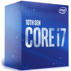 Intel i7-10700, 2.9 GHz, LGA1200, Processor threads 16, Packing Retail, Cooler included, Processor cores 8, Component for Desktop