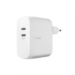 Belkin BOOST UP Wall Charger WCH003vfWH White, 68 W, 2-Port USB-C