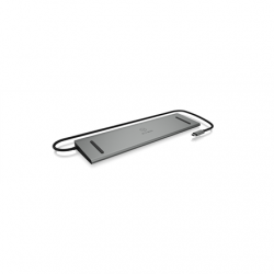 Raidsonic Icy Box Docking Station IB-DK2106-C VGA (D-Sub) ports quantity 1, HDMI ports quantity 2