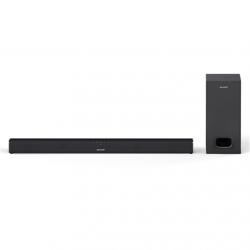Sharp HT-SBW110 2.1 Slim Soundbar 180 W, 80 cm with External Subwoofer, HDMI, Optical, Bluetooth