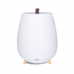 Duux Ultrasonic Humidifier Tag Ultrasonic, 12 W, Water tank capacity 2.5 L, Suitable for rooms up to 30 m², Ultrasonic, Humidification capacity 250 ml/hr, White