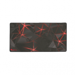 Genesis Carbon 500 MAXI FLASH Gaming mouse pad, 450 x 900 x 2.5  mm, Red/Black