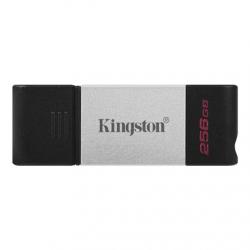 Kingston DataTraveler 80 256 GB, USB-C, Black