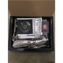 SALE OUT. MSI B450M MORTAR MAX MSI REFURBISHED WITHOUT ORIGINAL PACKAGING AND ACCESSORIES, BACKPANEL INCLUDED