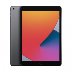"Apple 8th Gen (2020) iPad Wi-Fi 10.2 "", Space Grey, Retina touch screen with IPS,  2160 x 1620, Apple A12 Bionic, 3 GB, 32 GB, Wi-Fi, Front camera, 1.2 MP, Rear camera, 8 MP, Bluetooth, 4.2, iPadOS"