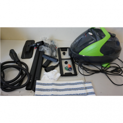 SALE OUT. Polti PTEU0280 Vaporetto Pro 95_Turbo Flexi Steam cleaner, Corded, 1100 W, Tank capacity 1.3 L, Working radius 8 m, Black/Green Polti Vaporetto Pro 95 Turbo Flexi  PTEU0280 1100 W, Steam Cleaner, Black/Green, Warranty 22 month(s), DEMO,MISSING 1