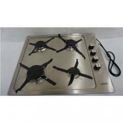 SALE OUT. CATA GI 604 A Gas, Number of burners/cooking zones 4, Rotary knobs, Stainless steel, REFURBISHED